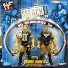WWF WWE Jakks Pacific SmackDown Double Slam Series 5 Triple H & The Rock Action Figures 2 Pack New
