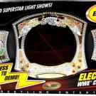 WWE Mattel Wrestling Electrovision Championship Spinner Belt with Real Entrance Music New