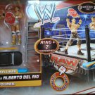 Mattel WWE Wrestling Walmart Exclusive Ringside Battle Playset including 2 figures New