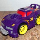 USED Fisher Price Shake 'n Go! Crash-Up Raceway Purple Car # 33 - Race Car with Sound & Action