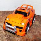 USED Fisher Price Shake 'n Go! Crash-Up Raceway Orange Car # 88 - Race Car with Sound & Action