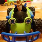 USED Fisher Price Shake 'n Go! Disney Pixar's Toy Story The Movie: Cowboy Woody with RC Car