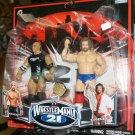 WWE Jakks Pacific Wrestlemania XXI 21 Exclusive Series 2 Eugene & Maven Action Figures New