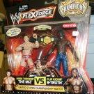 Mattel WWE Wrestling Flexforce Champions Exclusive The Miz vs R-Truth Action Figure 2-Pack