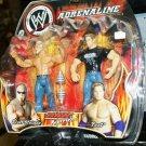 WWE Jakks Pacific Wrestling Adrenaline Series 7 Scott Steiner & Test Action Figure 2 Pack New
