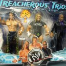 WWE Jakks Treacherous Trios Series 5 Shawn Michaels, Triple H & Jonathan Coachman Action Figure New