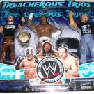 WWE Jakks Treacherous Trios Series 5 Rey Mysterio, Booker T & Chavo Guerrero Action Figure New