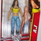 WWE Mattel Basic Series 24 Superstar # 06 AJ Lee (First Time in the Line) Action Figure New