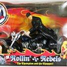 "WWE Jakks Pacific Rollin Rebels THE UNDERTAKER "" The Champion & His Chopper "" Action figure + Bike"