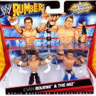 WWE Mattel Wrestling Rumblers The Miz & Evan Bourne Action Figure 2-Pack New