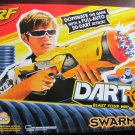 Hasbro Nerf Dart Tag Swarmfire Full Auto Blaster Gun with 20 Darts New