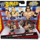 WWE Mattel Wrestling Rumblers Santino Marella & John Morrison Action Figure 2-Pack New