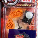 WWF WWE Jakks Pacific Unchained Fury Rob Van Dam RVD's Rough Ring Gear Accessory set New