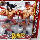 WWE Mattel Wrestling Rumblers  Yoshi Tatsu & Zack Ryder Action Figure 2-Pack New