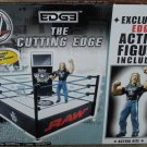 WWE Jakks Pacific Exclusive Cutting Edge Ring with Edge Action Figure NEW