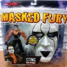 Marvel TNA Wrestling Total Nonstop Action Masked Fury Series 1 Sting Action Figure with Mask New