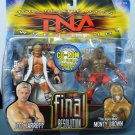 TNA Wrestling Total Nonstop Action Figure 2-pack Final Resolution Jeff Jarrett & Monty Brown