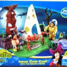 Peter Pan Pirates Heroes - Indian Chief Camp with 2 poseable Action Figures NEW