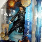 "Pirates of the Caribbean 4 On Stranger Tides Series 2 SPANISH OFFICER 6"" Action Figure New"