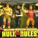 WWE TNA Jakks Pacific Hulk Hogan still Rules 3 Pack Exclusive Action Figure New