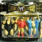 WWE Jakks Pacific Classic Iron Sheik - Nikolai Volkoff - King Kong Bundy Action Figure 3-Pack New