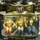 WWE Classic Mr. Wonderful Paul Orndorff, Cowboy Bob Orton Jr., Rowdy Roddy Piper Action Figures New