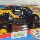Mattel Hot Wheels Marvel Monster Jam 2013 WOLVERINE 1:24 Scale Die Cast Truck New
