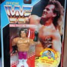 """Hasbro WWF WWE Official Wrestling Brutus """" The Barber """" Beefcake Action Figure Spanish Card New"""