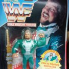 Hasbro WWF WWE Official Million Dollar Man Ted Debiase Action Figure with Belt Spanish Card