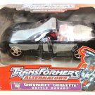 Hasbro Transformers Alternators Battle Ravage Black Chevrolet Corvette Action Figure New