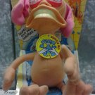 "Mattel Nicktoons 1992 The Ren & Stimpy Show REN HOEK 10"" Plush Doll New"