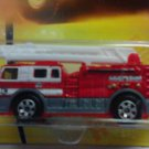 Mattel 2008 Matchbox Ready for Action Emergency Series #73 Ladder King 1:64 Scale Die Cast Car NEW