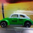 Mattel 2008 Matchbox Ready for Action City Action #56 Volkswagen Beetle Taxi 1:64 Scale Die Cast Car