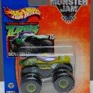 Mattel Hot Wheels 2004 Monster Jam #15 DONATELLO Teenage Mutant Ninja Turtles Truck Scale 1:64 New