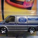Mattel 2007 Matchbox MBX Metal #37 Ford Transit Van Genuine Ford Parts 1:64 Die Cast Car New