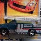 Mattel 2007 Matchbox Ready for Action MBX Metal #75 Green GMC Bucket Ground Truck 1:64 Die Cast Car