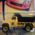 Mattel 2007 Matchbox MBX Metal #44 Yellow Plow Master 6000 Dump Truck 1:64 Scale Die Cast Car New
