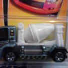 Mattel 2007 Matchbox MBX Metal #47 MBX Cement Truck with White Mixer 1:64 Scale Die Cast Car New