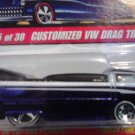 Mattel Hot Wheels Classic Series 2 Blue Customized VW Drag Truck #25 of 30 Die Cast 1:64 Scale Car