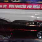 Mattel Hot Wheels Classic Series 2 Red Customized VW Drag Truck #25 of 30 Die Cast 1:64 Scale Car