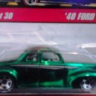 Mattel Hot Wheels Classic Series 2 Green 40 Ford Coupe #19 of 30 Die Cast 1:64 Scale Car New