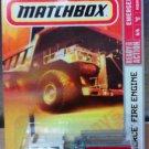 Mattel 2008 Matchbox Ready for Action Emergency Series #75 Pierce Fire Engine 1:64 Die Cast Car New