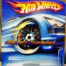 Mattel Hot Wheels 2005 - #181 Green & Silver '58 Ford Thunderbird Vehicle Die Cast 1:64 Car New