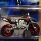Mattel Hot Wheels 2007 New Models - 11/36 Gray & Red Wastelander Vehicle Die Cast 1:64 Dirt Bike