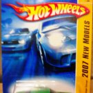 Mattel Hot Wheels New Models - 01/36 Green Dodge Challenger Concept Vehicle Die Cast 1:64 Car