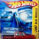 Mattel Hot Wheels 2007 New Models - 05/36 Red Dodge Ram 1500 Vehicle Die Cast 1:64 Scale Car New