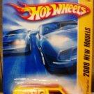 Mattel Hot Wheels 2008 New Models - 07/40 Custom '77 Dodge Van Yellow Vehicle Die Cast 1:64 Car