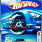 Mattel Hot Wheels 2006 First Editions Yellow '70 Plymouth Superbird #1/38 Die Cast 1:64 Car