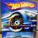 Mattel Hot Wheels 2006 Red Line 5/5 Blue 1969 Pontiac Firebird Die Cast 1:64 Scale Car New