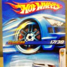 Mattel Hot Wheels 2006 First Editions Yellow #17/38 Blue Qombee Die Cast 1:64 Scale Car New